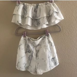 Sabo skirt marble set